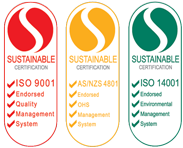 ISO 9001 and AS/NZS 4801 Sustainable Certification